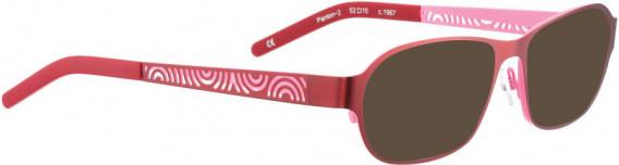 BELLINGER PANTON-2 sunglasses in Red