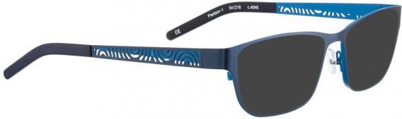 BELLINGER PANTON-1 sunglasses in Blue