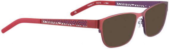BELLINGER PANTON-1 sunglasses in Red