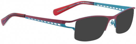 BELLINGER OPAL sunglasses in Wine Purple