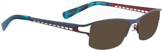 BELLINGER OPAL sunglasses in Metallic Blue