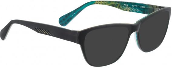 BELLINGER NOVA sunglasses in Black Yellow