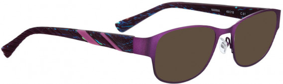 BELLINGER NANNA sunglasses in Lavender