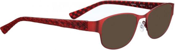 BELLINGER NANNA sunglasses in Shiny Red
