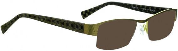 BELLINGER MUMTAC sunglasses in Green