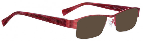 BELLINGER MUMTAC sunglasses in Red