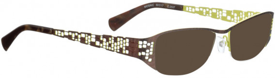 BELLINGER MOSAIC sunglasses in Shiny Brown