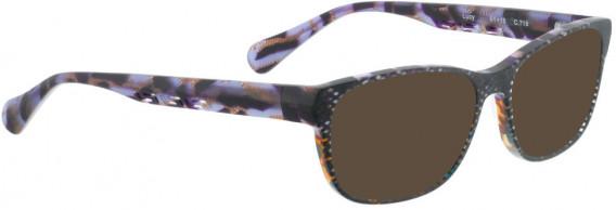 BELLINGER LUCY-51 sunglasses in Matt Grey Glitter