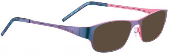 BELLINGER LOUISE sunglasses in Metallic Blue