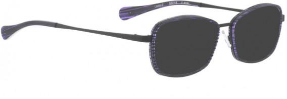 BELLINGER LOOP-2 sunglasses in Black Purple