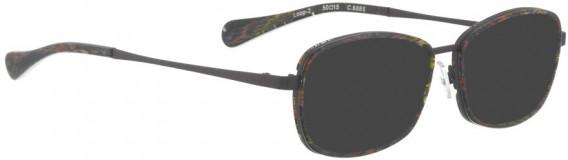 BELLINGER LOOP-2 sunglasses in Purple Mulit Color