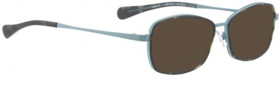 BELLINGER LOOP-2 sunglasses in Light Blue Brown