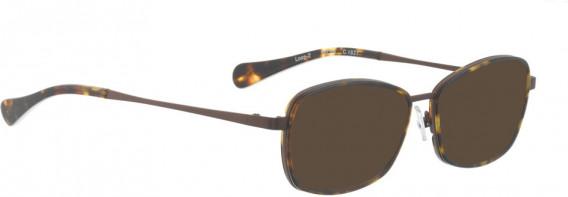 BELLINGER LOOP-2 sunglasses in Red – Brown