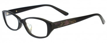 Anna Sui AS575 Glasses in Black/Red