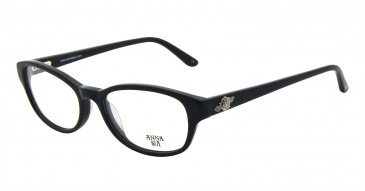 Anna Sui AS593 Glasses in Black