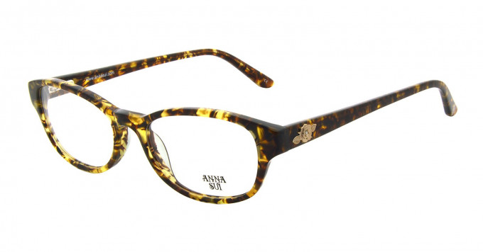 Anna Sui AS593 Glasses in Brown