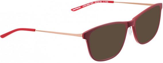 BELLINGER LESS1933 sunglasses in Matt Red