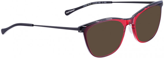 BELLINGER LESS1914 sunglasses in Red