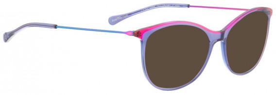 BELLINGER LESS1888 sunglasses in Purple Transparent