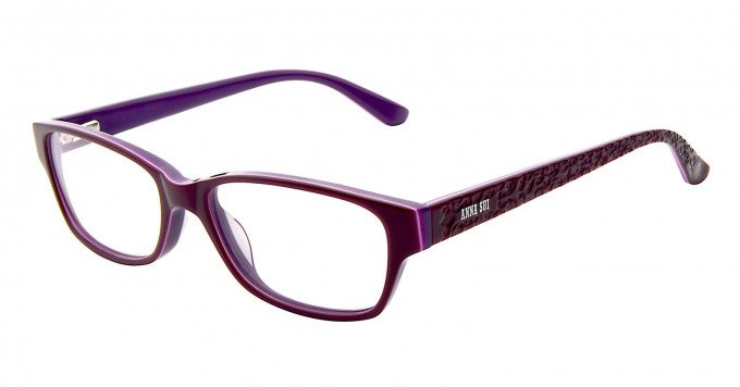 Anna Sui AS596 Glasses in Burgundy