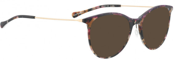 BELLINGER LESS1884 sunglasses in Purple-Brown Pattern
