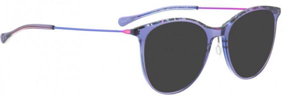 BELLINGER LESS1884 sunglasses in Purple Transparent