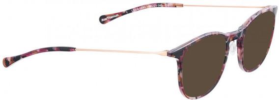 BELLINGER LESS1883 sunglasses in Purple Pattern