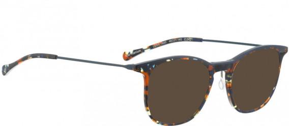 BELLINGER LESS1883 sunglasses in Brown Blue Pattern