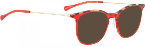 BELLINGER LESS1883 sunglasses in Red Transparent