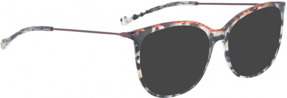 BELLINGER LESS1842 sunglasses in Grey Pattern/Red