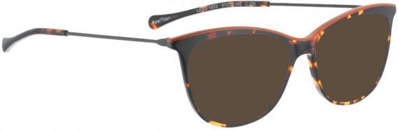 BELLINGER LESS1832 sunglasses in Brown Pattern