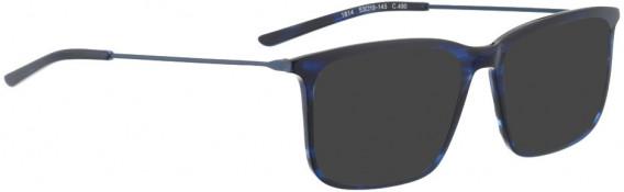 BELLINGER LESS1814 sunglasses in Blue Pattern