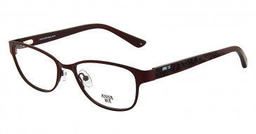 Anna Sui AS208 Glasses in Burgundy