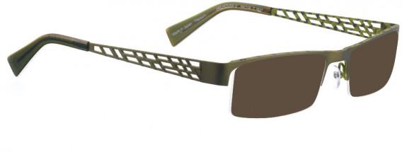 BELLINGER JAILHOUSE-2 sunglasses in Olive Green