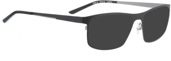 BELLINGER GREY-2 sunglasses in Black