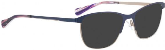 BELLINGER GOLDLINE-4 sunglasses in Navy Blue
