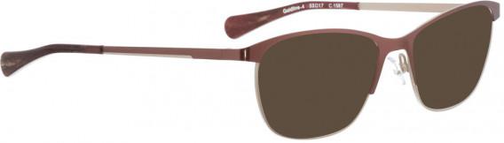 BELLINGER GOLDLINE-4 sunglasses in Red
