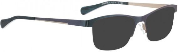 BELLINGER GOLDLINE-3 sunglasses in Shiny Blue