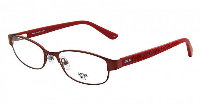 Anna Sui AS209 Glasses in Red