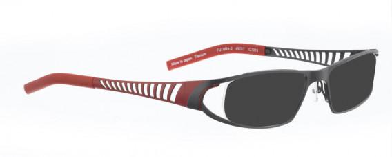 BELLINGER FUTURA-2 sunglasses in Shiny Grey
