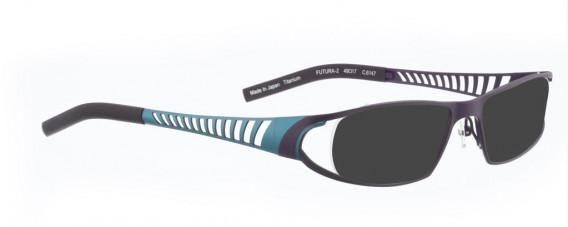 BELLINGER FUTURA-2 sunglasses in Lavender