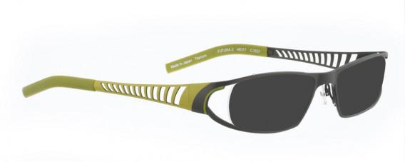 BELLINGER FUTURA-2 sunglasses in Olive Green