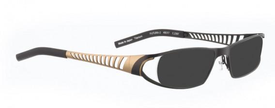 BELLINGER FUTURA-2 sunglasses in Matt Brown