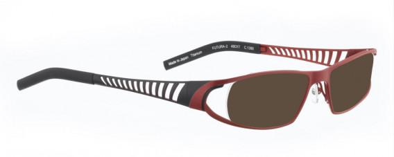 BELLINGER FUTURA-2 sunglasses in Matt Red