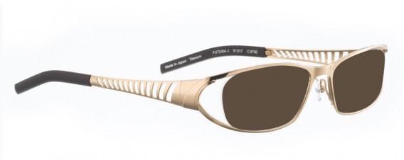 BELLINGER FUTURA-1 sunglasses in Gold