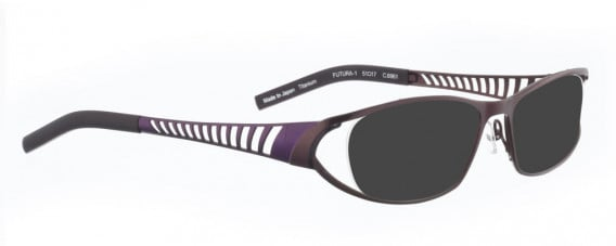 BELLINGER FUTURA-1 sunglasses in Aubergine