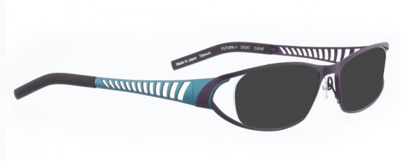 BELLINGER FUTURA-1 sunglasses in Lavender