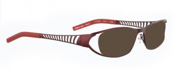 BELLINGER FUTURA-1 sunglasses in Shiny Red