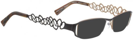 BELLINGER FREJA-2 sunglasses in Chocolate Brown