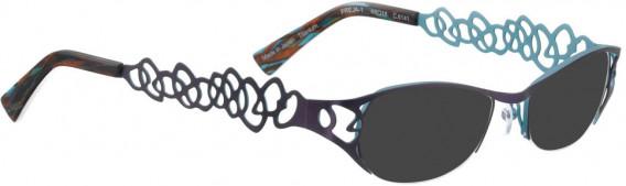 BELLINGER FREJA-1 sunglasses in Purple/Blue